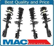 Front And Rear Complete Struts For 08-13 All Wheel Drive Highlander W/o 3rd Row
