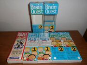 Lot Of Brain Quest 750 Questions And Answers Educational 1st, 2nd Grade