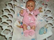 Sale No Doll Darling Pink Hand-knit Set 4 Reproduction Patsy Babyette 8