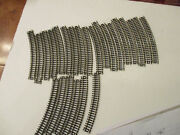 Trix N Scale 29 Curved And 25 Assorted Straight Track, Used Excellent Condition