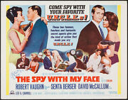 Man From Uncle Spy With My Face Half Sheet Movie Poster 22x28 Signed By Vaughn