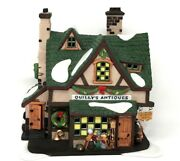 Dept 56 Heritage Village Collection Dickens Quillyand039s Antiques Model 58348