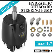 Helm 1.7 Outboard Hydraulic Steering Pump Hh5271-3 1.7 Cu In 13lb Profession