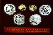 2008 China Official Commemorative Gold And Silver Coin Set Type 3 Olympic Set Coa