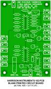 Blank Printed Circuit Board For The 102 Minimum Theremin