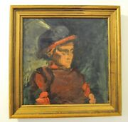 German Expressionist Oil Painting Rudolf Levy Attribution