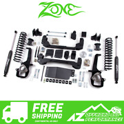Zone Offroad 6 Suspension System Lift Kit For 2012 Dodge Ram 1500 4wd D19n/d21n
