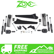 Zone Offroad 4.5 Radius Arm Suspension System For 14-18 Dodge Ram 2500 Gas D55n