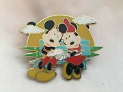 Disney Official Pin Trading Mickey And Minnie Mouse Park Bench Sun Le 250 Rare