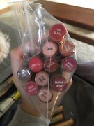Lipsense Senegence Tester Lot 15 Colors And Gloss With Disposable Wands Lipstick