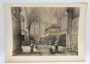 San Francesco Assisi Upper Church 1843 G Moore Lithograph Architecture Of Italy