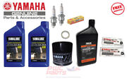 Yamaha Outboard Maintenance Oil Kit F15c F20 F25 T25 Ngk Dpr6eb-9 Gearcase Lube