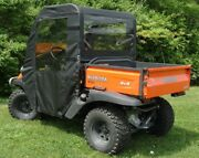 Doors And Rear Window Enclosure For Existing Top + Ws Kubota Rtv400 Rtv500 New