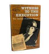Witness To The Execution The Odyssey Of Amelia Earhart T.c. Buddy Brennan Signed