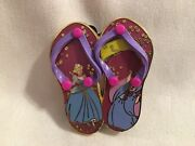 Disney Pin Trading 2007 Sandals Series - Cinderella And Her Fairy Godmother Le 250