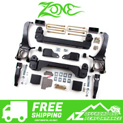 Zone Offroad 5 Lift Suspension System For 16-17 Toyota Tundra 4wd T5n