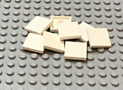 Lego 8 Lot White Tile 1 X 1 With Groove 3182 10255 10246 8142 3222 3181 21309