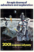 Movie Memorabilia Posters 1960-1969 2001 A Space Odyssey One Sheet
