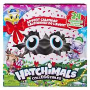 Hatchimals Colleggtibles - Advent Calendar With Exclusive Characters Paper Cra