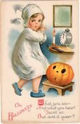Halloween Postcard, Published By Wolf And Co., Artist Ellen Clapsaddle, Series 31