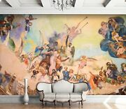 3d Angels Celebration 5 Wall Paper Wall Print Decal Wall Deco Indoor Wall Mural