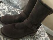 Brown Uggs Size 6 Ladies Buckle Unique New Without Box Ugg Australia