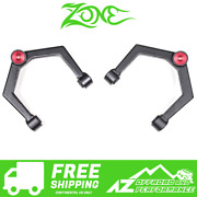 Zone Offroad Hd Upper Control Arms Uca Kit For 16-17 Nissan Titan Xd N2200