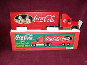 Sun Oil 2000 Issue Coke Exclusive Holiday Gold Caravan Truck