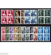 Spain - Year 1954 In Blocks Of Four Complete - Stamps New Luxury