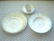 Vintage Furnivals 19th Century China,walden-green Place Setting - 1800's