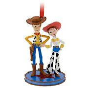 Disney Toy Story Jessie And Woody Tree Ornament New With Tag 2013 [rare]