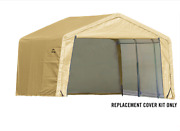 Shelterlogic Replacement Cover Kit 14.5oz 12x12x8 805394 90505 For 70443 70743