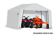 Shelterlogic Replacement Cover Kit 21.5oz 12x12x8 805406 90505 For 70443 70743