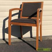 Lot Of 8 - Geiger Furniture Collegeville Series Stack Side Chairs - Good Quality
