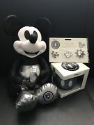 Disney Mickey Mouse Memories January Plush Mug Pin Set Limited Edition Sold Out