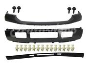 Front Bumper Blk Face Bar Pad Valance Bolt Retainer For Ford F250 F350 2005-2007