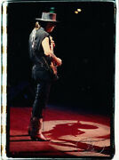 Stevie Ray Vaughan Soul Archival Lithograph Poster