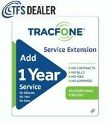 Tracfone Service Extension 1 Year / 365 Days For Branded Phones -- Direct Refill