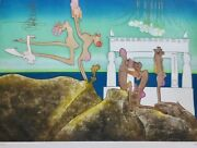 Roberto Matta 10 Am Land039arc Obscure Des Heures Etching/aquatint Hand Signed Obscur