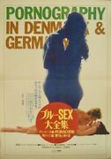 Pornography In Denmark And Germany Japanese B2 Movie Poster Sexploitation 71