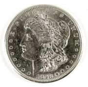 1898-s 1 United States Early Morgan .900 Silver Dollar - Ungraded