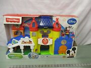 Fisher Price Little People Magic Kingdom Day At Disney Palace Castle New Mickey