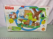 Fisher Price Little People Zoo Talkers Animal Sounds Zoo Tree House Water New