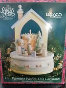 Enesco Precious Moments Our Warmest Wishes This Christmas Revolving Musical 92