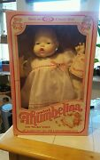 Ideal Thumbelina 18 Doll Soft And Cuddly Mama Voice Vinyl Arms And Legs