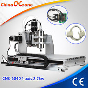 6040 2200w Spindle Cnc Router Engraver Engraving Milling Drilling Diy Mmachine