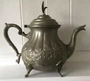 Attractive Vintage Ornamental Antique Style Middle Eastern Teapot Marked