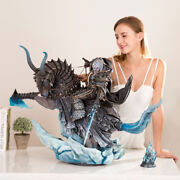 1/4 Death Knight Arthas Statue Lin Studios Resin Model Wow Collectibles New