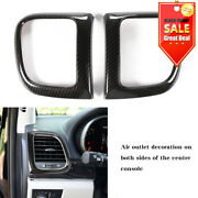 Inner Side Air Vent Outlet Cover Trim Fit Jeep Grand Cherokee 2011+ Accessories