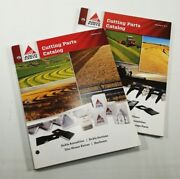 Set Of 2 Agco Cutting Parts Catalogs Sickle Lifters Tines Disc Mower Rasspe S4fs